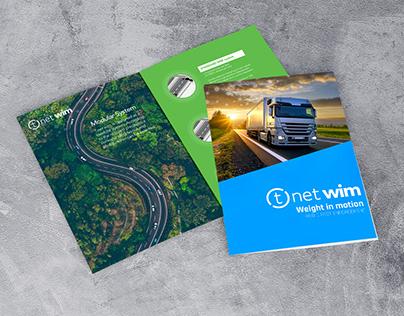 Presentazione progetto T.netWim - Brochure e slide PPT.