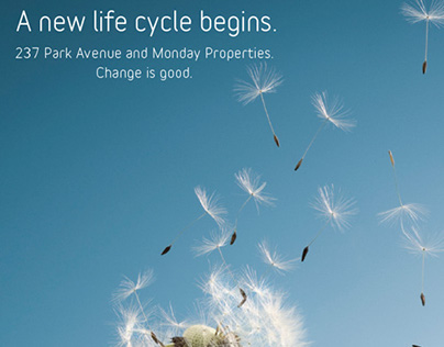 A new life cycle begins.