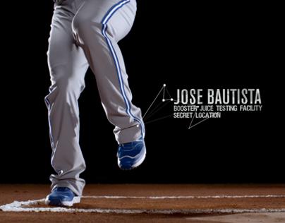 Booster Juice + Jose Bautista
