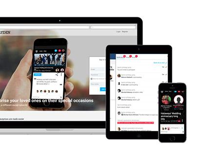 Social Web Portal Kayden