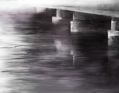 Hybrid Drawing: Soft Water