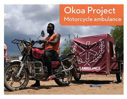Okoa Project Motorcycle Ambulance