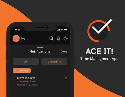 Ace it! - Time management app