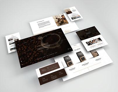 S.Tix Coffee Web Design