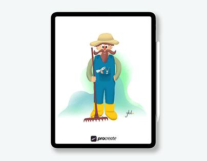 Mr. Avo Gadro   Character Design
