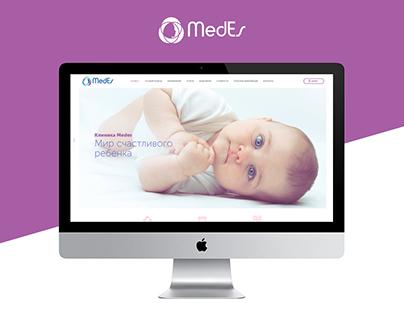Medes - Concept of website