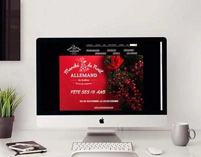 Site web du Marché de Noël allemand