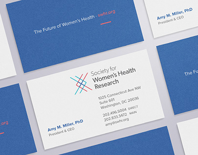 Society for Women's Health Research Branding