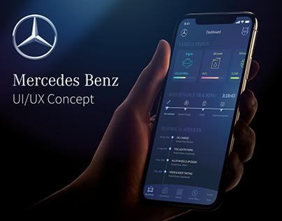 Mercedes App - UI/UX Concept