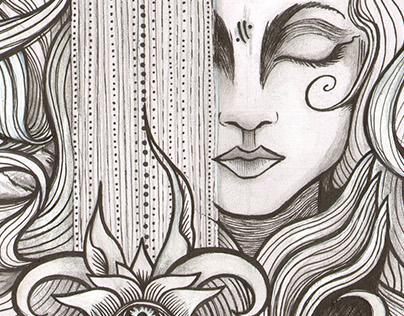 Queen of Swords (Personal Work)