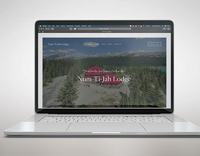 Num-Ti-Jah Lodge Website Redesign