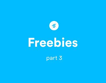Freebies p.3, Animated Mockups, UI kits, tools