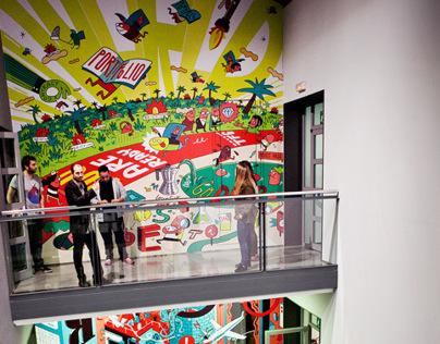 Elisava murals