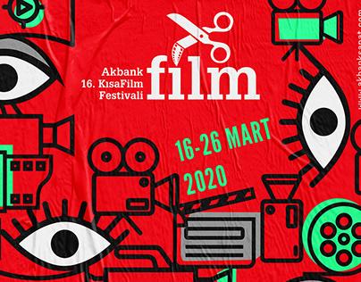 Poster Design for Akbank Sanat