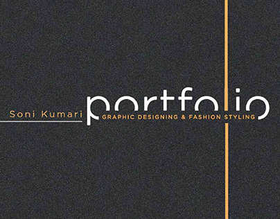 Portfolio - Graphic Designing & Fashion Styling