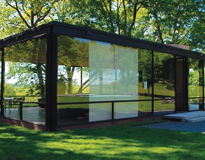 Philip Johnson's Glass House, Golden Section Analysis
