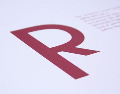 Futura Typographic Poster