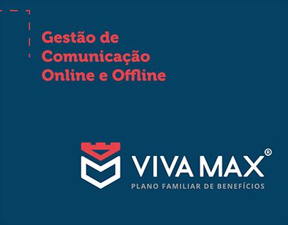 Gestão de Comunicação Online e Offline - Viva Max