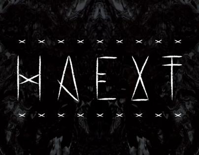 HAEXT Typeface