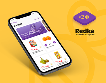 Redka / iOS App / UX-UI design