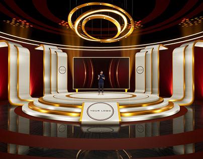 Virtual stage design - Talent show