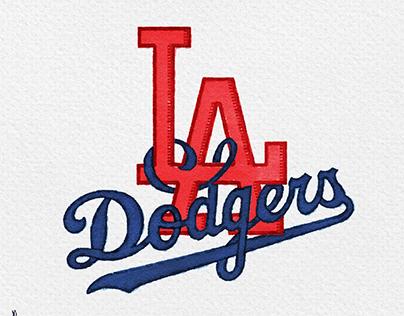 Retro refit are the Los Angeles Dodgers
