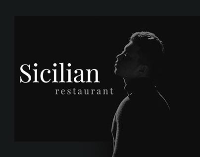 Italian Restaurant Mondello - webdesign concept
