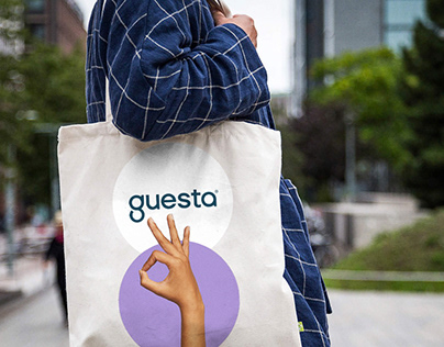 Guesta — Brand development for a hospitality management