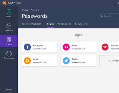 Avast Passwords for PC, Mac, iOS, Android (since 2017)