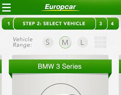 Europcar - App Concept