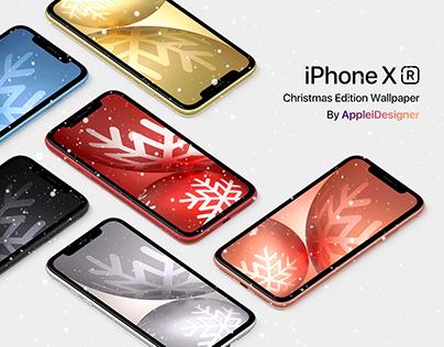 iPhone XR Christmas Edition Wallpaper By AppleiDesigner
