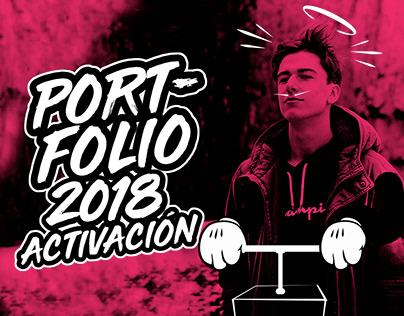 Portfolio 2018 - Activación