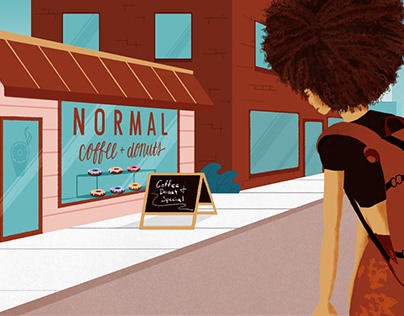 Normal Coffee Styleframes for Motion