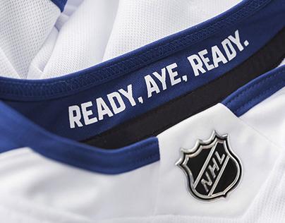 Toronto Maple Leafs Stadium Series Uniform Campaign