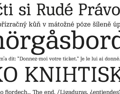 Publikum /typeface/