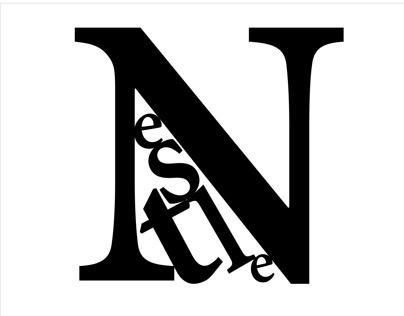 Typogram Process - Nestle