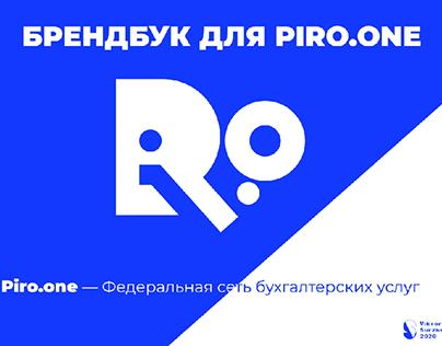 Brandbook for Piro.One