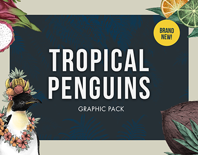 Tropical Penguins - Graphic Pack