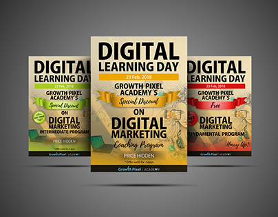 Promotional Posters | Digital Marketing Course
