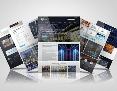 LED Lighting company website