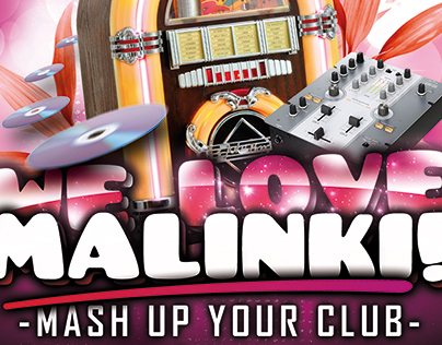 We Love Malinki! Flyer