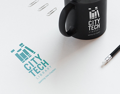 City Tech library Re-branding