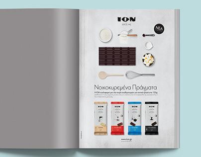 ION // print ad
