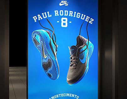 Lançamento Tênis Paul Rodriguez 8