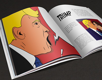 Donald Trump Illustration