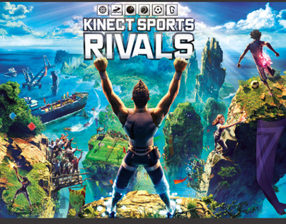 "Xbox ""Kinect Sports: Rivals"" Naming and Back of Pack"