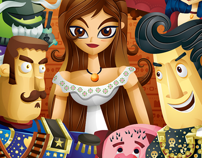 """Poster Fanart """"The Book of life"""""""
