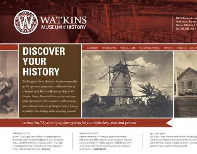 Service Learning: Watkins Museum of History
