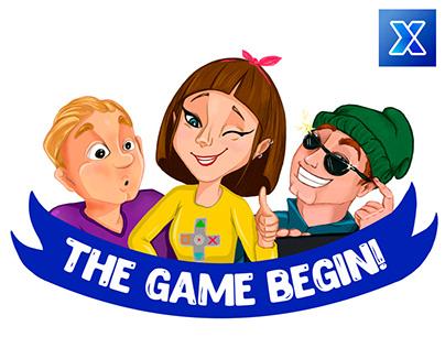The Game Begin! Stickers for Pixchange App