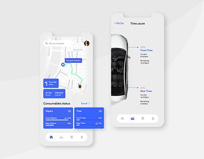 WIP!® Smart Car App